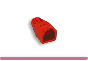 Cat. 6 RJ-45 Boot Red Color