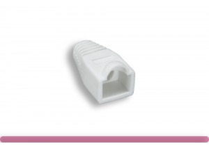 Cat. 6 RJ-45 Boot White Color