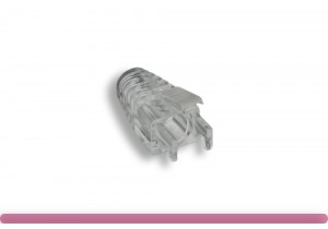 Cat. 6 RJ-45 Boot Clear Color