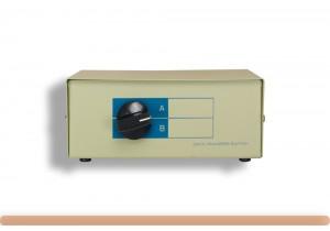 2-Way HD15 VGA Manual Data Switch