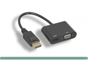 DisplayPort to HDMI / VGA Adapter