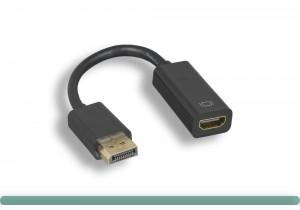 DisplayPort to HDMI Adapter w/o Latch