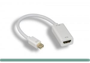 Mini DisplayPort 1.2 to HDMI Adapter