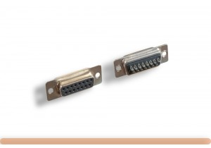 DB15F Solder Type Connector