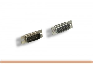 DB15M Solder Type Connector